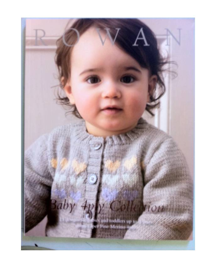 a Pattern Book Rowan Baby 4ply collection - Handmade Studios